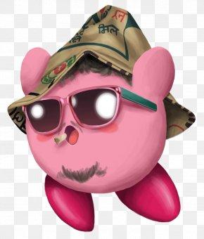 Hippie - Snout Pink M Visual Perception Glasses PNG