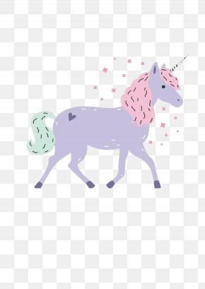 Color Unicorn - Unicorn Horn Illustration PNG