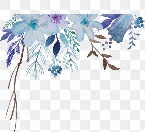 Watercolor Flowers - Watercolor Painting Flower PNG