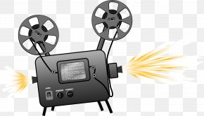 Projector Cliparts - Movie Projector Film Clip Art PNG