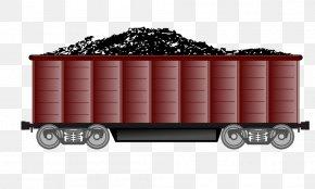 Train - Rail Transport Train Passenger Car Clip Art Coal PNG