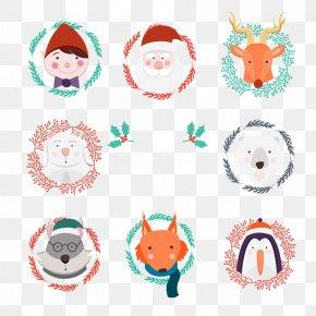 Vector Santa Claus - Santa Claus Christmas Ornament Illustration PNG