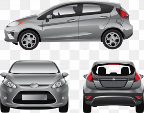 Modern Fashion Car Vector - Ford Fiesta Ford Motor Company Car Mockup PNG