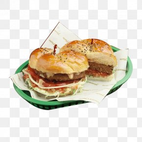 Beef Burger Creative - Slider Buffalo Burger Cheeseburger Breakfast Sandwich Fast Food PNG