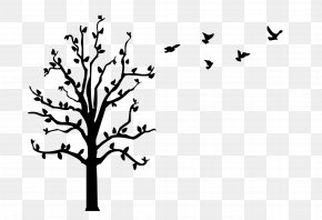 Decal - Window Wall Decal Tree PNG