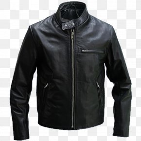 Jacket - Leather Jacket Coat Motorcycle PNG