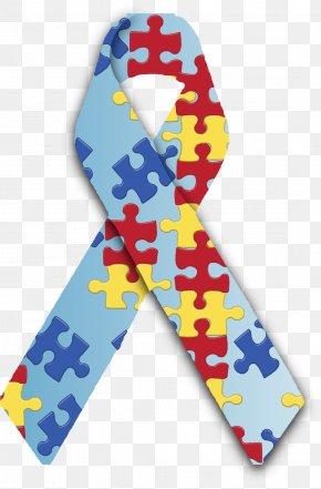 Autism - Awareness Ribbon World Autism Awareness Day Autistic Spectrum Disorders PNG