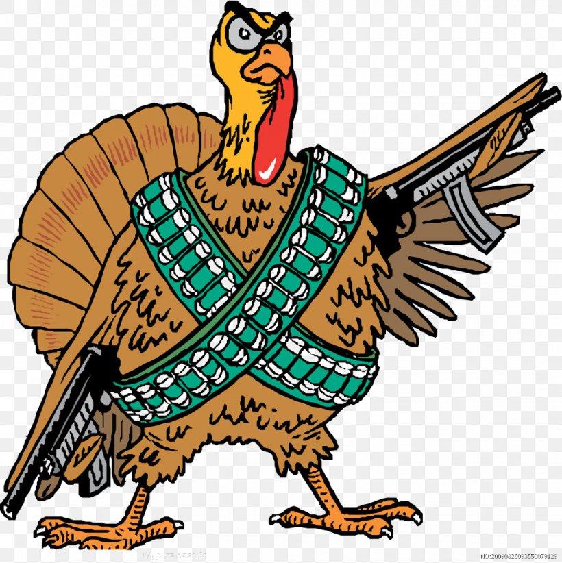 Turkey Firearm Handgun Pistol Clip Art, PNG, 1021x1024px, Turkey, Art, Artwork, Beak, Bird Download Free
