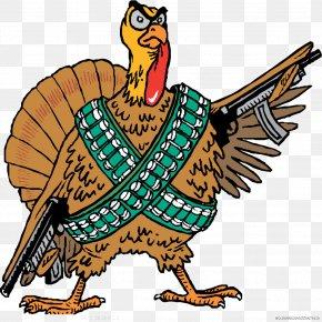 A Battle Turkey - Turkey Firearm Handgun Pistol Clip Art PNG