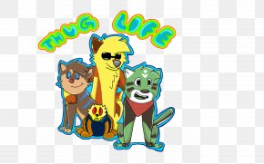 Thug Life - Vertebrate Cat Mammal Carnivora PNG