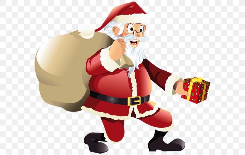 Santa Claus Christmas Clip Art, PNG, 600x519px, Santa Claus, Art, Christmas, Christmas Eve, Christmas Ornament Download Free