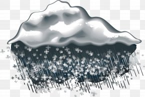 Sleet Weather Icon - Weather Rain And Snow Mixed Icon PNG