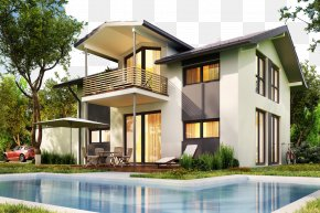 Design Of Two Luxury Villas - Housing House Prefabricated Home Prefabrication Villa PNG