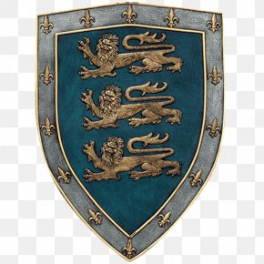 Lion Shield - Middle Ages Royal Coat Of Arms Of The United Kingdom Crusades Shield PNG