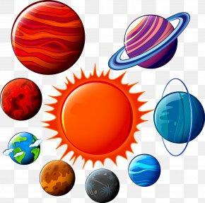 Planet - Planet Mercury Venus Euclidean Vector PNG