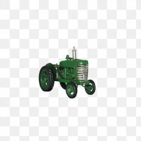 Green Tractor - Tractor Farm PNG