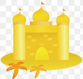 The Yellow Castle - Yellow Euclidean Vector Adobe Illustrator PNG
