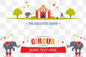 Vector Banner Circus Poster - Circus Poster Stock Illustration Illustration PNG