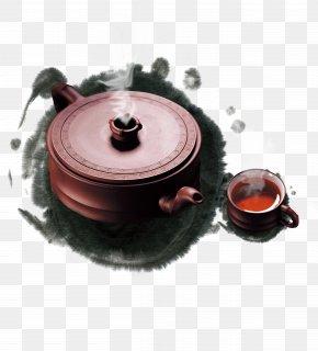 Tea Tea Culture - Tea Culture Ink Wash Painting Poster PNG