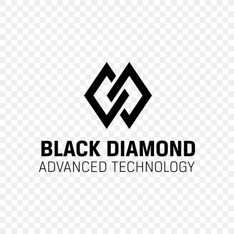 Black Diamond Advanced Technology, LLC Logo Black Diamond Equipment Brand, PNG, 1800x1800px, Logo, Area, Black, Black And White, Black Diamond Equipment Download Free