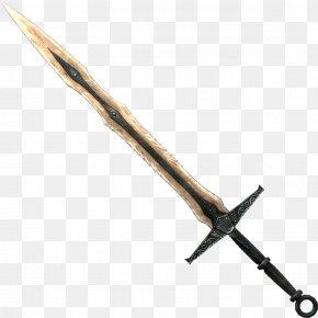 Real Sword File - The Elder Scrolls V: Skyrim U2013 Dawnguard The Elder Scrolls V: Skyrim U2013 Dragonborn The Elder Scrolls Online Dark Souls Classification Of Swords PNG