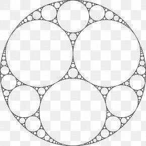 Fractal Geometry - Apollonian Gasket Tangent Circle Fractal Problem Of Apollonius PNG