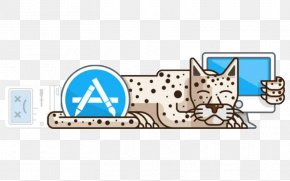 Snow Leopard Computer Cartoon Style - Macintosh MacOS Mac OS X Snow Leopard Operating System MacBook PNG
