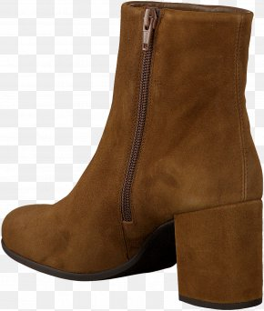 Cognac - Suede Footwear Boot Brown Shoe PNG