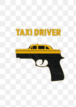 Pistol With Taxi - Taxi Pistol Handgun Icon PNG