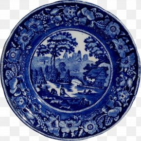Plate - Plate Transferware Pottery YouTube Staffordshire PNG