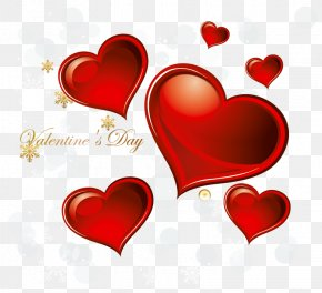 Valentines Day Hearts Decoration PNG Clipart - Valentine's Day Heart Clip Art PNG