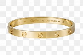Upscale Jewelry - Love Bracelet Cartier Jewellery Gold PNG