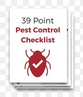 Bug You Not Pest Control And Rodent Removal - Checklist Pest Control Logo Question PNG