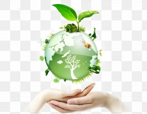Energy Saving Earth Elements PNG