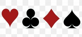 Playing Card Symbols - Set Playing Card Suit Symbol PNG