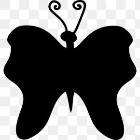 Butterfly - Butterfly Insect Silhouette Moth Clip Art PNG
