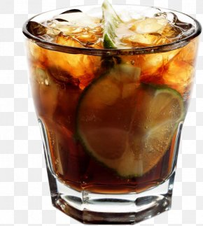 A Drink - Whisky Rum And Coke Cocktail Soft Drink Coca-Cola PNG