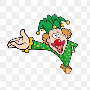 Cartoon Clown - Clown Cartoon Icon PNG