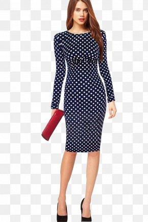 Women's Day - Dress Sleeve Clothing Neckline Polka Dot PNG