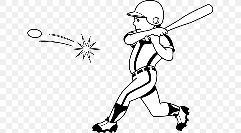 Black And White Baseball Clip Art Png 633x453px Black And White Area Arm Art Artwork Download
