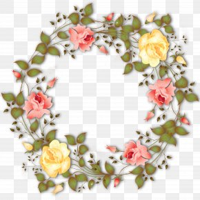 Wreath - Flower Wreath Garland PNG