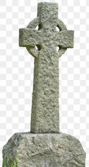 Christian Cross - Celtic Cross Christian Cross Headstone PNG