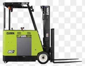 Linde Material Handling - Forklift Clark Material Handling Company Counterweight Material-handling Equipment Elevator PNG