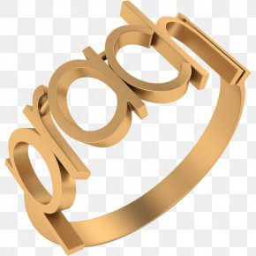 Ring - Ring Gold YouTube Body Jewellery Bangle PNG