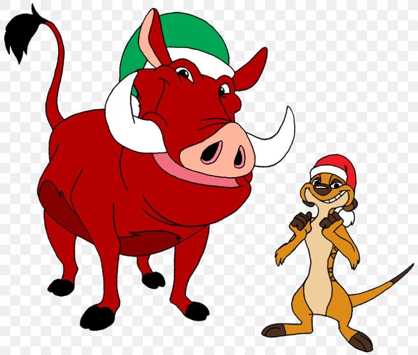 Timon And Pumbaa Simba Christmas