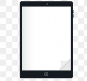 Vector Touchscreen Tablet Page - Mobile Device Display Device Electronics Gadget PNG