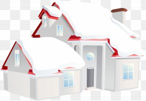 House Winter Clip Art Image - Hut Clip Art PNG
