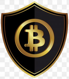 Bitcoin Badge Clip Art Image - Bitcoin Gold Cryptocurrency PNG