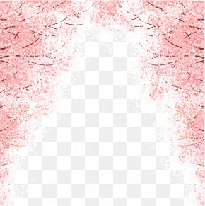 Cherry Tree - Cherry Blossom Euclidean Vector PNG
