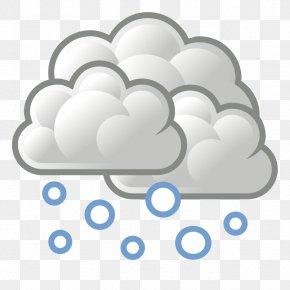Snow Cliparts - Snowflake Cloud Clip Art PNG